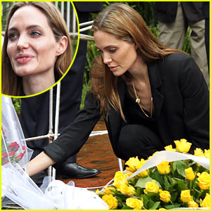 Angelina Jolie: Gisozi Genocide Memorial Visit