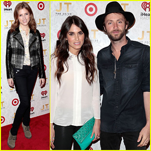Anna Kendrick & Nikki Reed: '20/20 Experience' Release Party!