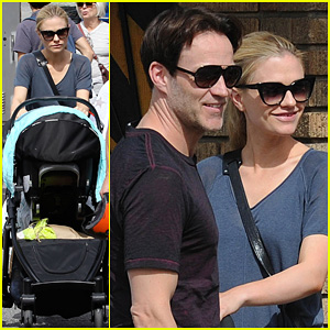 Anna Paquin & Stephen Moyer: Abbot Kinney with the Family!