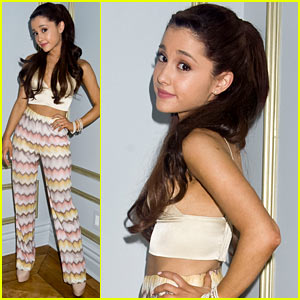 Ariana Grande Interview - JustJared.com Exclusive!