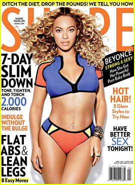 Beyonce Flaunts Bikini Body for 'Shape' Magazine April 2013