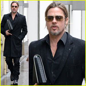 Brad Pitt: Furniture Shopping in Paris!