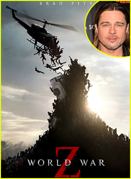 Brad Pitt: 'World War Z' Trailer & Poster!