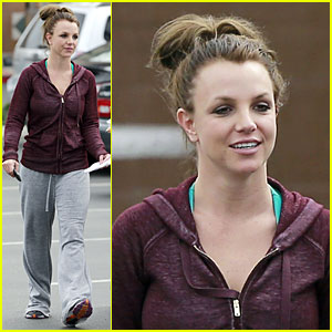 Britney Spears: Flowering Grocery Stop!