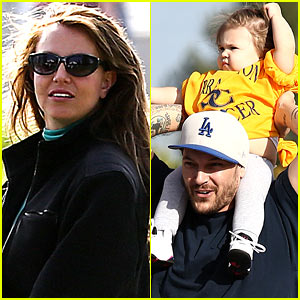 Britney Spears & Kevin Federline: Sean Preston & Jayden James' Soccer Games!