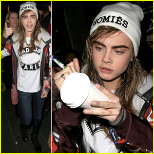 Cara Delevingne: Jean Paul Gaultier Fashion Show