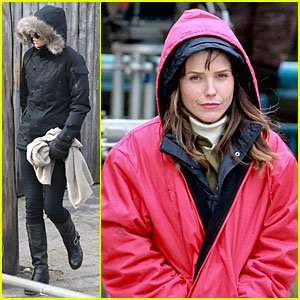 Charlize Theron: 'Hatfields & McCoys' with Sophia Bush!