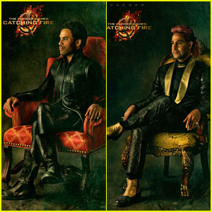 Cinna, Haymitch, & Caesar: 'Hunger Games: Catching Fire' Portraits!