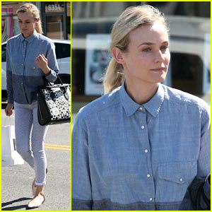 Diane Kruger: Joshua Jackson Won't Let Me Watch His Early Acting Roles!