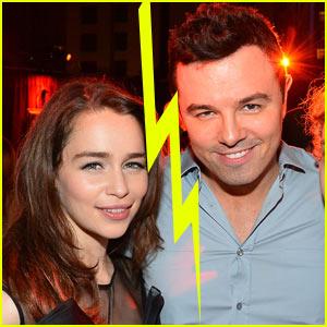 Emilia Clarke & Seth MacFarlane Split?