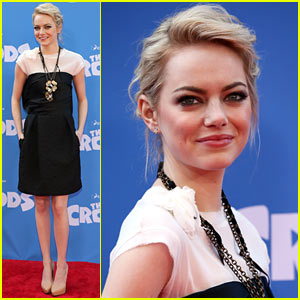 Emma Stone: 'The Croods' Premiere!