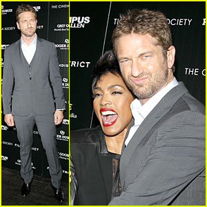 Gerard Butler: 'Olympus Has Fallen' New York Screening!
