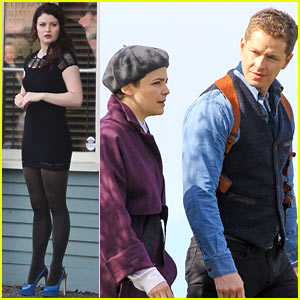 Ginnifer Goodwin & Emilie de Ravin: 'Once Upon a Time' Set!