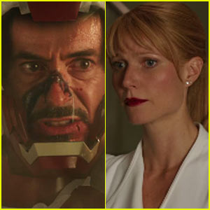 Gwyneth Paltrow & Robert Downey, Jr.: 'Iron Man 3' Trailer!