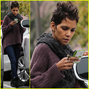 Halle Berry Talks 'The Call' Poodle Hairdo