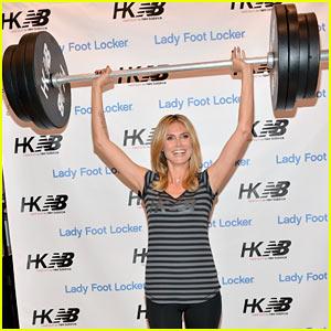 Heidi Klum: New Balance Collection Launch!