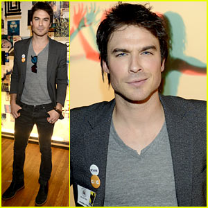 Ian Somerhalder: Warner Brothers Party at SXSW!