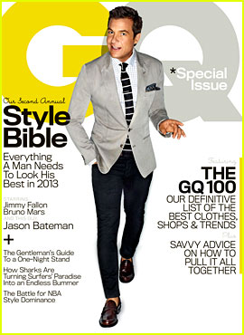 Jason Bateman Covers 'GQ' Style Bible April 2013