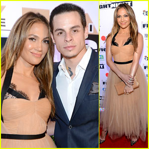 Jennifer Lopez: Celebrity Fight Night with Casper Smart!