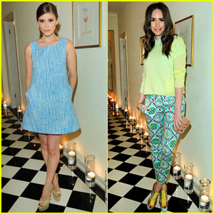 Kate Mara & Louise Roe: Joe Fresh Celebration Dinner