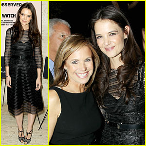 Katie Holmes: 'New York Observer' 25th Anniversary Party!