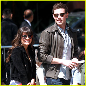 Lea Michele & Cory Monteith: Kings Game Couple!