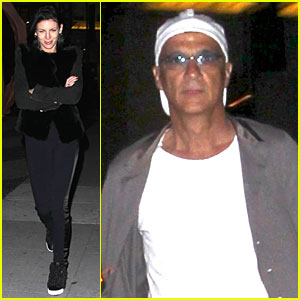 Liberty Ross & Jimmy Iovine: Dinner Date in Beverly Hills!