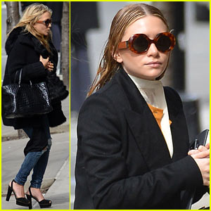 Mary-Kate & Ashley Olsen: Manhattan Meeting Sisters!