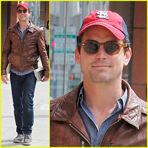 Matt Bomer: Empire State Building Filming Was Dream Come True!