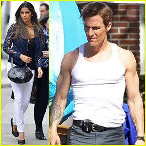 Matthew McConaughey: 'True Detectives' Gun Show!