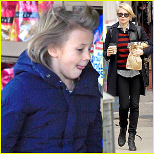 Michelle Williams & Matilda: Grocery Shopping in New York City!