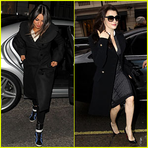 Mila Kunis & Rachel Weisz: 'Oz' Press Junket in London!