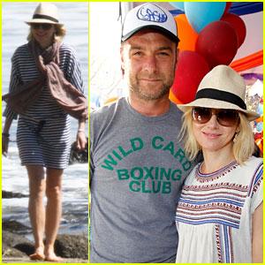 Naomi Watts & Liev Schreiber: John Varvatos Stuart House Benefit