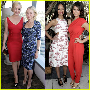 Naomi Watts & Zoe Saldana: THR's Most Powerful Stylists Lunch!