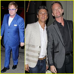 Neil Patrick Harris: Elton John's Birthday Party with David Burtka!