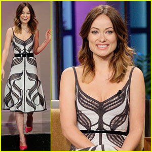 Olivia Wilde: 'Incredible Burt Wonderstone' Promo on 'Leno'!