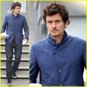 Orlando Bloom: Vitamin Filled Lunch!