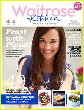 Pippa Middleton Covers 'Waitrose Kitchen' April 2013