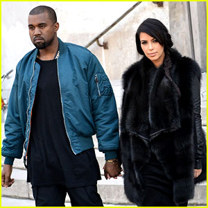 Pregnant Kim Kardashian & Kanye West: Palais de Tokyo Visit!