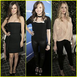 Rachel Bilson & Chloe Moretz: BlackBerry Z10 Launch!