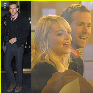 Ryan Reynolds & Emma Stone: 'The Today Show' Appearance!