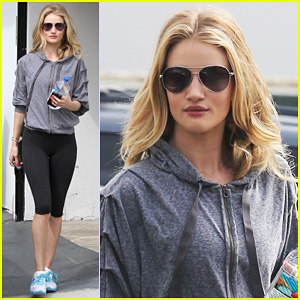Rosie Huntington-Whiteley: 'I Feel Very Grateful and Blessed'