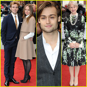 Sam Claflin & Douglas Booth: Prince's Trust Celebrate Success Awards