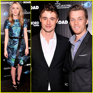 Saoirse Ronan & Max Irons: 'The Host' NYC Screening!