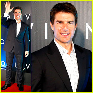 Tom Cruise: 'Oblivion' Brazil Premiere!