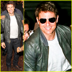 Tom Cruise: Zuka Night Out!