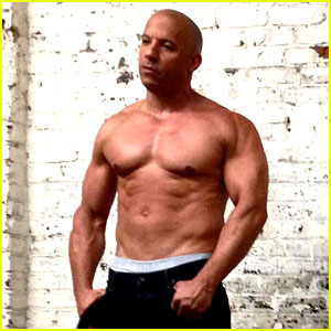 Vin Diesel: Shirtless for 'Prestige' Magazine Shoot!