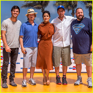 Adam Sandler & Taylor Lautner: 'Grown Ups 2' in Cancun!