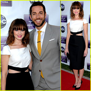 Alexis Bledel & Zachary Levi: 'Remember Sunday' Premiere!