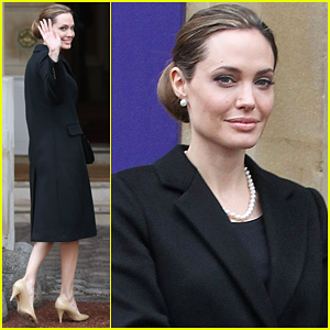 Angelina Jolie: G8 Foreign Ministers' Conference!